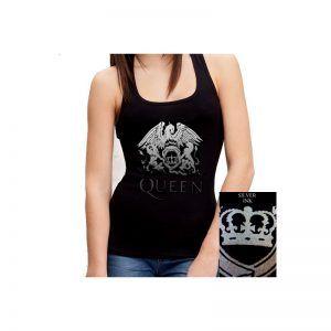 camiseta queen hombre