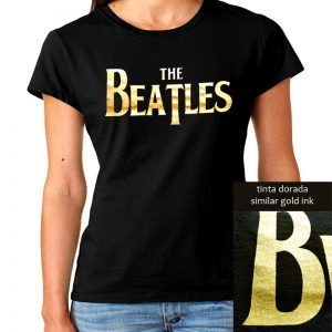 Camiseta de los beatles